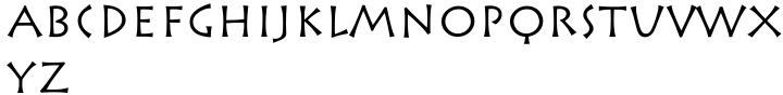 Rusticana™ Font Sample