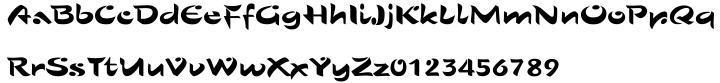 Sho™ Font Sample