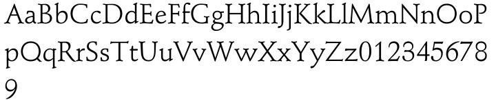 Stempel Schneidler® Font Sample