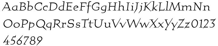 Quartet™ Font Sample