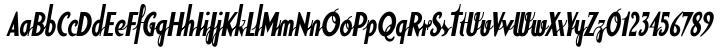 Soda Script™ Font Sample
