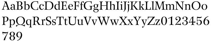 Wilke™ Font Sample
