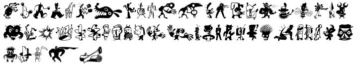 ZeitGuys™ Font Sample