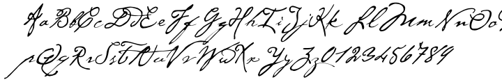 P22 Cezanne™ Font Sample
