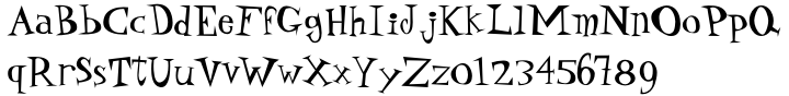P22 Daddy-O™ Font Sample