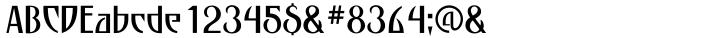 P22 Escher™ Font Sample