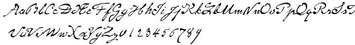 P22 Monet™ Font Sample