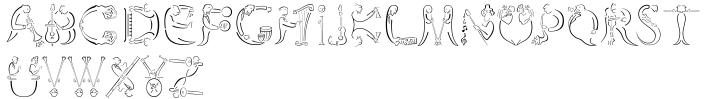 Orchestra BT™ Font Sample