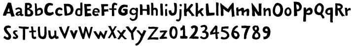Handy Sans Font Sample