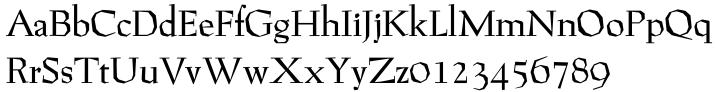 P22 Preissig™ Font Sample