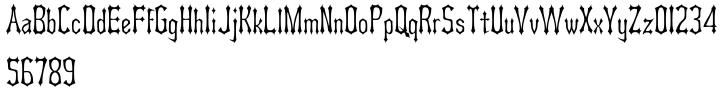 Asterx™ Font Sample