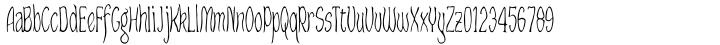 Craggy Font Sample