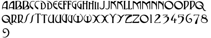 P22 Vienna™ Font Sample