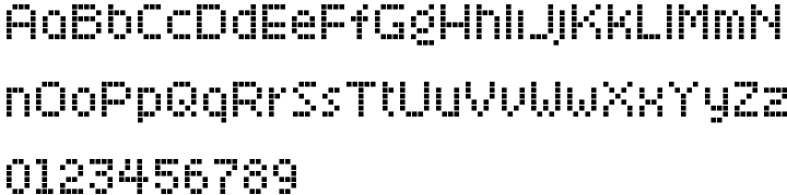 Kaliberuckus Font Sample