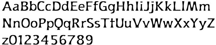 Platforms Font Sample