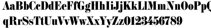 Milano Font Sample