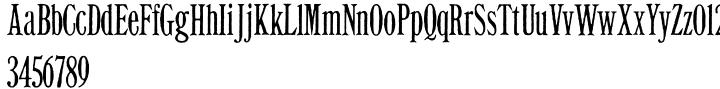 Exilis Font Sample