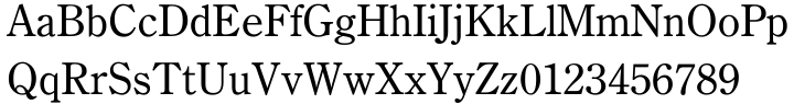 Century Oldstyle™ Font Sample