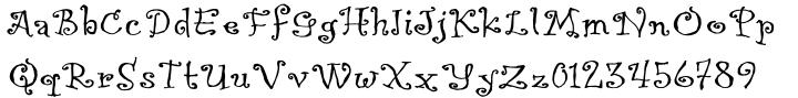 Kreme De Fresh Font Sample