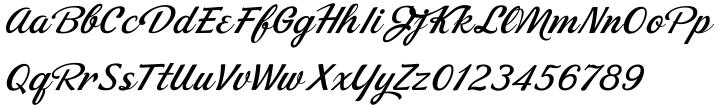 Dream Lover™ Font Sample