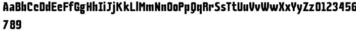 Large Font Sample