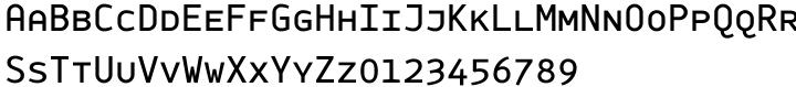 Monox SC Font Sample