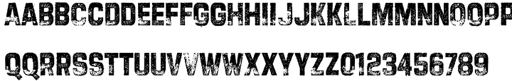 Tapeworm™ Font Sample