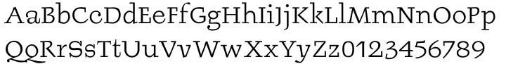Burgstaedt Antiqua™ Font Sample