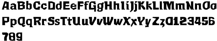F2F Mekanik Amente™ Font Sample