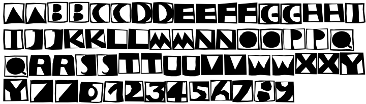 Stempel™ Font Sample