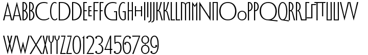 Vere Dignum™ Font Sample