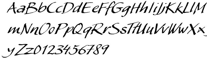 My Script Font Sample