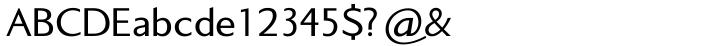 Standup™ Font Sample