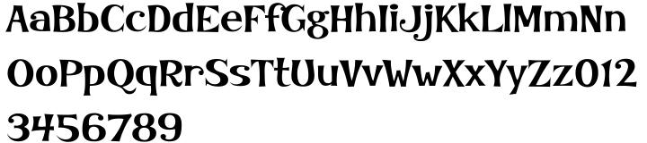 Kooky BT™ Font Sample