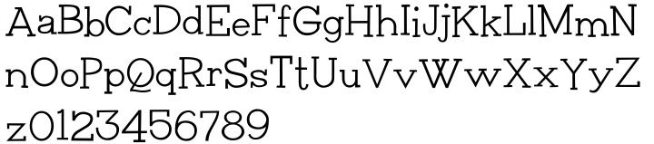 Plumbsky Font Sample