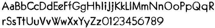 Garnet Euro Typewriter Font Sample