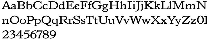 Angular Font Sample