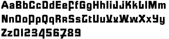 Formula™ Font Sample