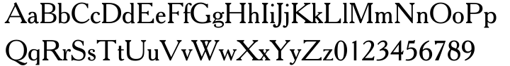 Cheltenham™ Font Sample