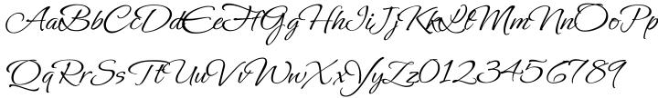Ephesis Font Sample
