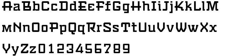 Travel Kit SG™ Font Sample