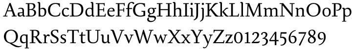 Aquila Font Sample