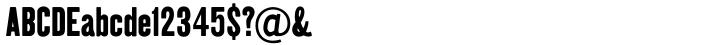 Kipp Clean™ Font Sample