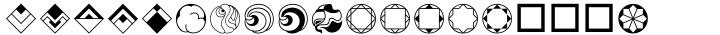 Rotata Mysticons™ Font Sample