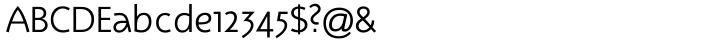 Rotate Modern™ Font Sample