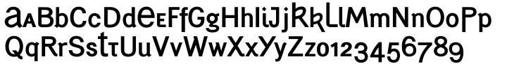Generation Uncial™ Font Sample