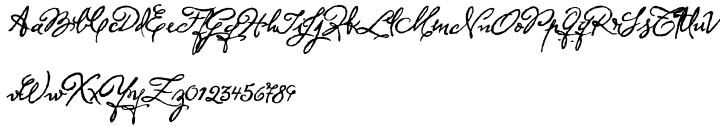 Herencia Font Sample