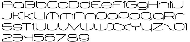 Equaliser Font Sample