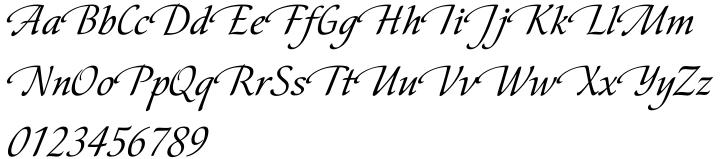 Cometa Font Sample