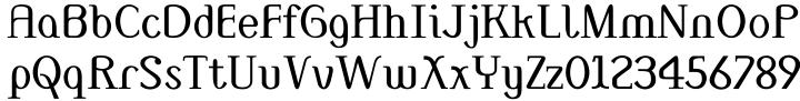 Monolith Roman™ Font Sample